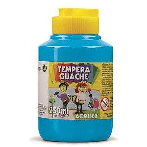 Tinta Guache Acrilex 250Ml Azul Celeste 503