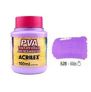 Tinta Plastica PVA Lilás 528 100Ml