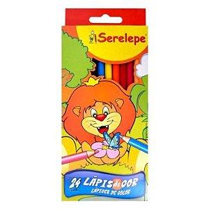 Lápis De Cor Ecole Serelepe 24 Cores