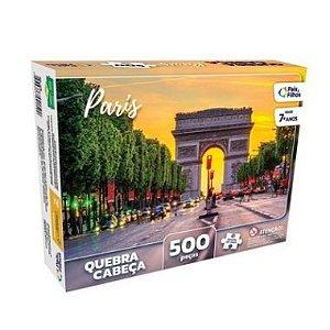 Quebra-Cabeça Pais & Filhos Paris 500 Peças