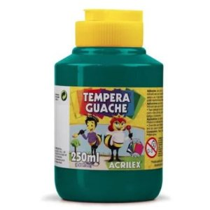 Tinta Guache Acrilex 250Ml Verde Bandeira 511
