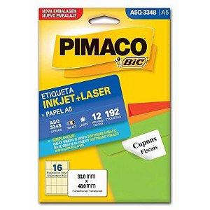 Etiqueta A5 Q3348 Pimaco