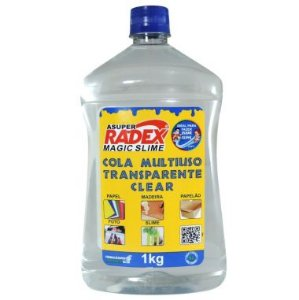 Cola Multiuso Transparente Radex 1KG Magic Slime