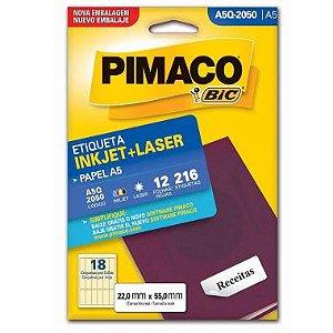 Etiqueta A5 Q2050 Pimaco