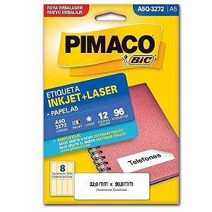 Etiqueta A5 Q3272 Pimaco