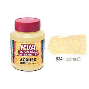 Tinta Plastica PVA Palha 834 100Ml