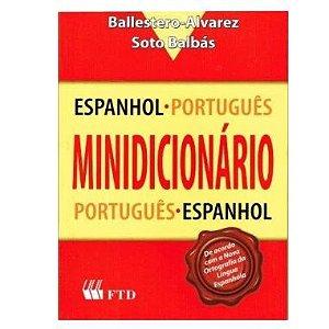 Minidicionário Espanhol Alvarez 15 Mil Verbetes