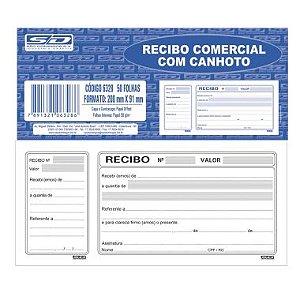 Recibo Com Canhoto 50F SD 6328