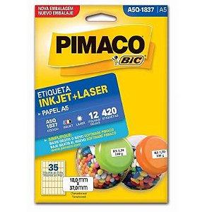 Etiqueta A5 Q1837 Pimaco