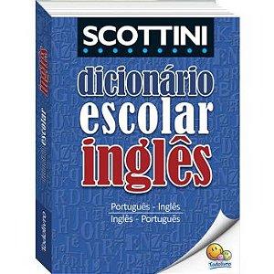 Dicionário Escolar Inglês Scottini 30 Mil Verbetes