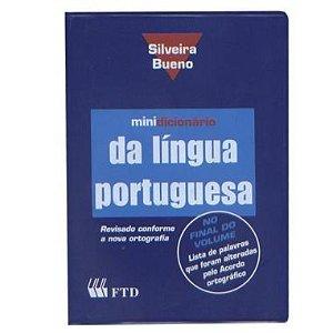 Minidicionário Português Silveira Bueno com Capa PVC
