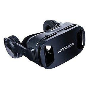Oculos VR Multilaser  Warrior JS086 Com  HeadPhone