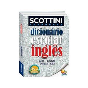 Dicionário Escolar Inglês Scottini 60 Mil Verbetes