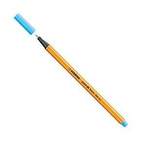 Caneta Stabilo Point 88 Azul Neon 031