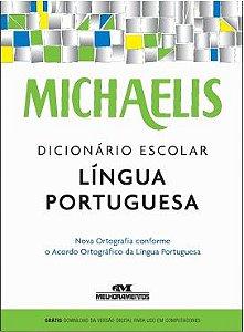 Dicionário Escolar Português Michaelis 50 Mil Verbetes