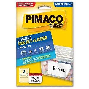 Etiqueta A5 Q66115 Pimaco