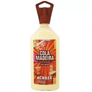 Cola Madeira Acrilex 100G