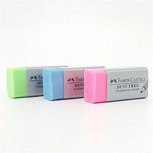 Borracha Faber-Castell Dust Free Cores Sortidas