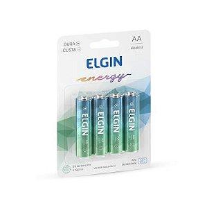 Pilha AA Elgin Energy C/4 Alcalina