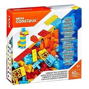 Mega Consrtux Mattel 60 Peças DYG83