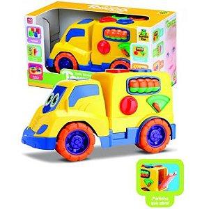 Caminhão De Encaixes Tchuco Baby Samba Toys