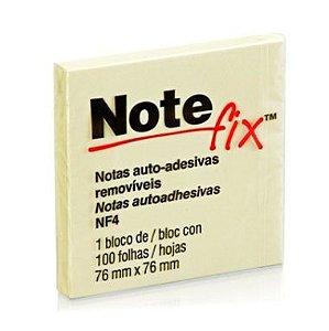 Blocos Adesivos 3M Note fix 76X76Mm Amarelo