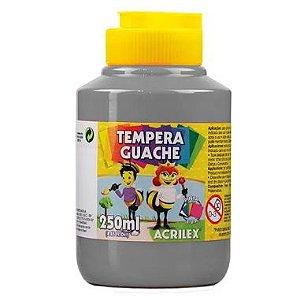Tinta Guache Acrilex 250Ml Cinza 933