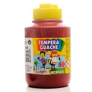 Tinta Guache Acrilex 250Ml Vinho 565