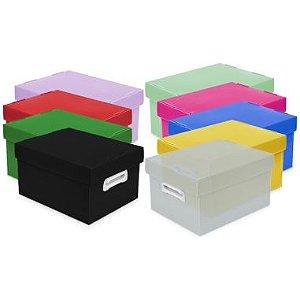 Caixa Organizadora Polibras Média 370X280X212Mm