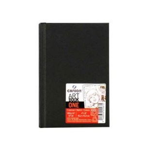 Sketchbook Canson One Art Book 98fls 14X21,6cm 100g/m²