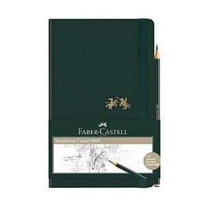 Sketchbook Faber-Castell 9000 84fls 12,5X20cm 70g/m² + 1 EcoLápis