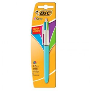 Caneta 4 Cores BIC Fashion Refresh