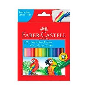 Canetinha Hidrográfica Faber-Castell C/12 Cores
