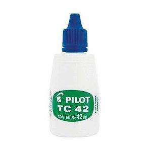Tinta para Carimbo Azul PILOT 42ml