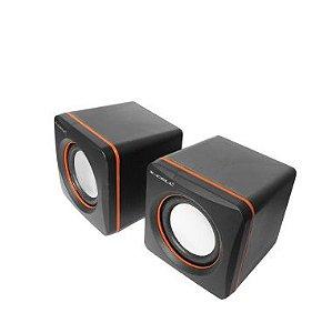 Caixa de Som X-CELL 5W USB Preta XC-CM-03