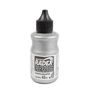 Reabastecedor P/Almofada De Carimbo Radex 40ML Preto
