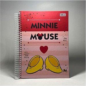 Caderno Minnie Tilibra 10x1 160F