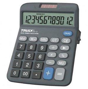 Calculadora Truly 833-12 C/12 Dígitos