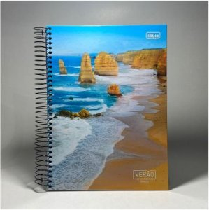 Caderno Verão Tilibra 10x1 200f