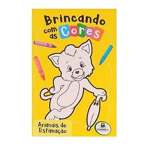 Livro Colorir Brincando com as Cores