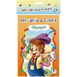 Livro Brincando de Colorir Simples Sortido
