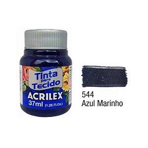Tinta P/Tecido Fosca Acrilex 37ML Azul Marinho 544