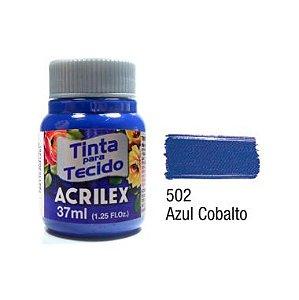 Tinta P/Tecido Fosca Acrilex 37ML Azul Cobalto 502