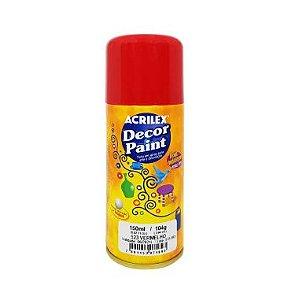 Spray Decor Paint Acrilex Vermelho 523 150ML