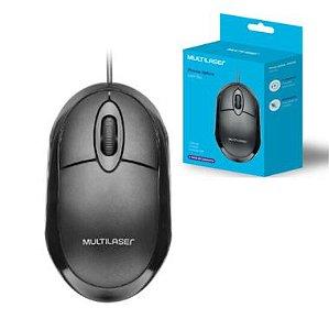 Mouse Multilaser Classic Box Preto USB
