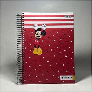 Caderno Mickey Tilibra 10x1 160F
