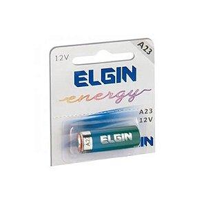 Bateria Elgin A23 12V Alcalina