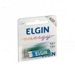 Bateria Elgin A27 12V Alcalina