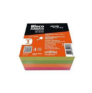 Blocos Adesivos Jocar Office 76X76 C/4 Cores 400F