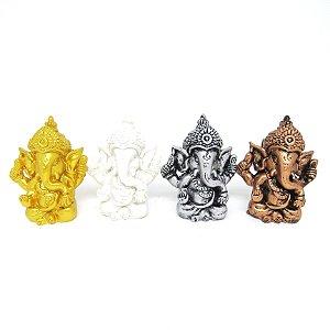 Conjunto Ganesh Color c/ 4 (Resina)